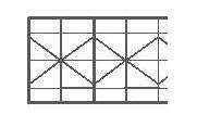 """Lastra di policarbonato trasparente A 7 PARETI ad """"X"""":"""